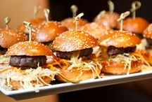Burger Mania! / Who doesn't LOVE a big juicy burger? They can be simple, or topped with as many extras as you like!