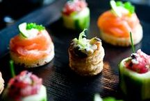 Canapés and party food!