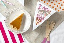 T H A N K S G I V I N G / Ideas and DIY tips from Bracket Blog for your next feast
