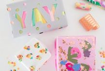 W R A P / Ideas and printables to make the perfectly wrapped gift