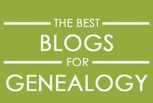 """Best Genealogy Blogs / Find the best genealogy blogs for your family history research on this board. Discover the most popular personal genealogy blogs and genealogical society blogs across America. Take your ancestor sleuthing to a whole new level with these """"best of"""" lists of blogs that cover anything and everything ancestrally related. (pun intended)"""