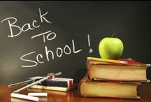 Back to School / That time of the year again when its back-to-school and for some 1st day at school. Here are some helpful recipes, tips and DIY's to make the adjustment to the new routines smoother and easier.