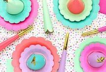 P A R T Y P R O D U C T S / Pieces that will really bring a party together