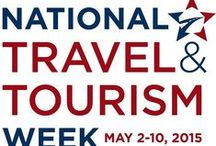 """National Travel & Tourism Week / """"The first full week of May is annually recognized as National Travel and Tourism Week, a tradition first celebrated in 1984, established by a Congressional joint resolution passed in 1983."""" Check out USTravel.org for more information."""
