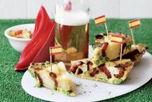 Futebol Fever Food / Food for the fans! Support your team - dishes to cook and enjoy