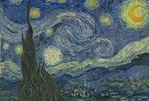 Artist: Vincent Van Gogh / Favorite paintings by Vincent Van Gogh