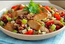 Quorn / A health food and an alternative to meat.