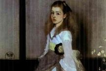 Artist: James Whistler / Some favorites of ours by Whistler.