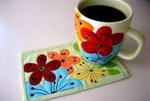 Quilting - mug rug
