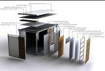 ARCHITECTURE : Modular + Prefab / Modular + Prefabricated Architectural Concepts / Methodology