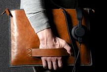 LEATHER : Luggage + Accessories / Leather Goods