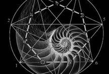 GEOMETRY : Fibonacci + Sequential Mathematical Patterns / Geometry : Fibonacci + Sequential Mathematical Patterns
