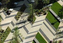 DETAIL : Landscaping + Public Areas / DETAIL : Landscaping + Public Areas, Piazzas and Squares