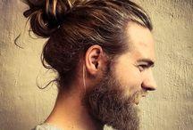 MEN : Beards + Hair / Current hair styles