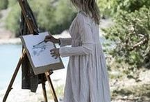 Painting Outside: Plein Air Painting Photos