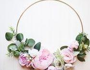 Door Hangers and Wreaths