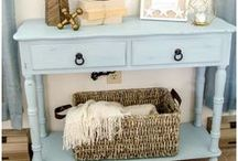 Chalky Paint Ideas and Tutorials