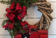{Inspirações para o Natal} / Ideias para decoração natalina, dicas para decoração da mesa de Natal, embalagens de presentes e inspirações.