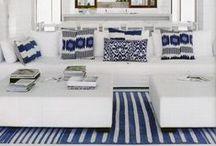 Decore com Azul / Decorações com vários tons de azul para inspirar.  Cor fresca e tranquila, o azul transmite confiabilidade e seriedade. Na decoração, as mais diferentes tonalidades de azul podem criar ambientes vibrantes e inspiradores, calmos e convidativos.