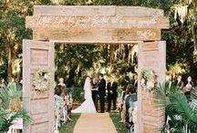 Rustic Woodland Weddings