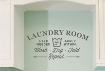Home: Laundry / by Jan L. | fourharpdesigns