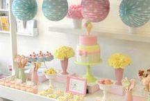 beautiful ice cream birthday party