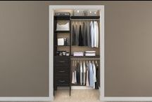 Home: Closets / Small closet spaces / by Jan L. | fourharpdesigns