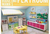 Playroom/bonus room ideas / by Katie Usher- DeMeo