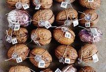 Nuts & Pine Cone -> DIY Ideas