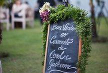 Inspirações para casamento - Wedding / Inspirações simples e acessíveis para casamentos
