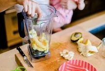 {feeding little ones} / Healthy and happy snack and meal ideas for the littles.