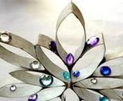 {Para fazer com rolo de papel} / Ideias para reaproveitar os rolos de papel para decorar a casa com estilo e de modo sustentável