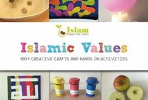 Islam: Object Lessons / Visual demonstrations and hands on activities, using everyday objects, to help engage and illustrate Islamic concepts to little ones.