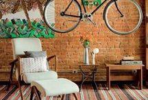 Bicicleta na decoração / Como guardar a bicicleta dentro de casa sem ocupar espaço