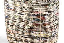 {Para fazer com jornal} /  1001 Formas de Reutilizar e Reciclar Jornais