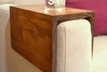 {Reutilizando madeira} / Pallets,  caixotes, carretéis, madeiras residuais de construção, tudo pode ser reaproveitado na decoração, basta inspiração.