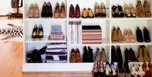 Closet / Ideias bem pensadas para montar um closet funcional e bonito.