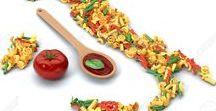 Pasta / Un elenco incompleto di ricette di PASTA: fredda, calda, in insalata o al ragù. E' uno dei componenti principali della dieta mediterranea e nel mondo simboleggia la cucina italiana.