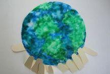 Earth Day Crafts & Ideas / by Jennifer Mattingly