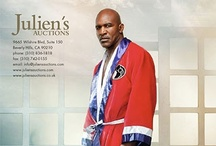 Property from the Life and Career of Evander Holyfield / Julien's Auctions, the world's premier sports and entertainment auction house, proudly announces the auction of exclusive property from The Collection of Evander Holyfield, an unprecedented array of boxing memorabilia, household items, vehicles, jewelry and personal property being offered at auction on Friday, November 30th, 2012. This historic collection of memorabilia from the world's only five-time heavyweight champion in boxing history is an once-in-a-lifetime opportunity!