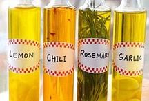 RECIPES:INFUSED OLIVE OIL