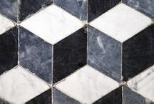 Tile / Versatile in use and look, tile is one of our favorite things to pick out while designing residential homes!