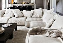 Neutral Interiors / Neutrals go great in any space!