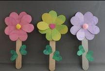 Spring Art & Craft Ideas / by Jennifer Mattingly