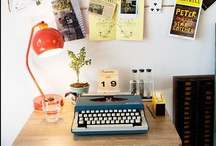 working & organising / home offices, studios, ateliers and more / by Julia Bieler