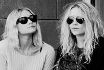 The Olsens / Mary Kate and Ashley Olsen style