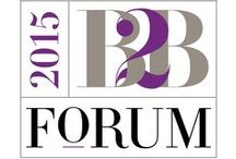 B2B Marketing Forum 2015 / Let's MAKE marketing magic.  Let's go. Let's do. Let's build something new. Let's create something delightful—and unusual. Something exciting. Something wonderful for everyone we touch. / by MarketingProfs