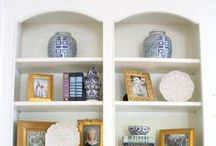 Shelfies / Perfect shelf vignettes!