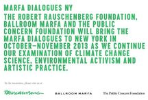"Ballroom Marfa / Ballroom Marfa received an Artistic Innovation and Collaboration (AIC) grant from the Robert Rauschenberg Foundation in 2012 to support ""Carbon 13"", a multi-disciplinary artistic investigation of issues related to climate change. Artist and project director David Buckland will work with 6 participating artists on developing new works to be presented in an exhibition in conjunction with public programs as part of the Marfa Dialogues. / by Robert Rauschenberg Foundation on Pinterest"