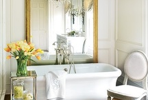 Bathrooms/Powder Rooms / Magnificent bathrooms of all shapes and colors!